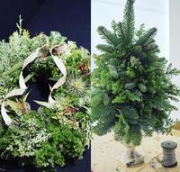 クリスマスリースレッスン開催のお知らせ - Chieka original accessory