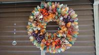 Fall Foliage Wreath - ♡リボンレイと日々のこと♡
