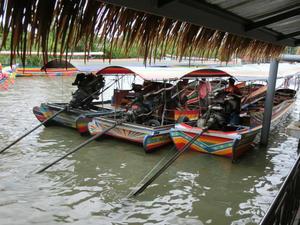タリンチャンのボートツアー -