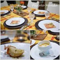10月のCooking Classが終了しました♪ - Romy's Mondo ~料理教室主宰Romyの世界~