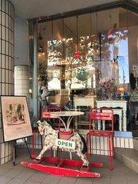 東京の家具屋さん巡りをしました。 - piecing・針仕事と庭仕事の日々
