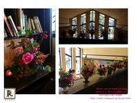 旬の秋バラをいけ、明日館でみなさんで撮影をしました🍁📷✨ - Bouquets_ryoko