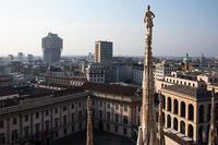 ミラノ大聖堂 (Duomo di Milano) テラス - Keiko's life style