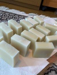 シアバターの石鹸 - 小さなバラの庭と手作りせっけんのなちゅらるらいふ