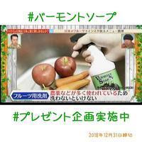 プレゼントのお知らせ - Vermont Soap Japan  (バーモントソープ ジャパン)