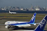 エアバス330 中国国際航空 ボーイング777 全日本空輸 羽田空港 - レイルウェイの記憶
