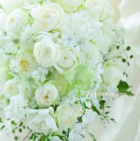 フルキャスケードブーケ ヒルトン東京ベイの花嫁様へ 秋、隣の花 - 一会 ウエディングの花