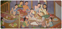 母と子のケア - 泰国的仙人生活