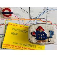 ●刺繍作家shinshiaさんの作品と在廊のお知らせ「英国の小さなブックフェア」より - 英国古物店 PISKEY VINTAGE/ピスキーヴィンテージのあれこれ
