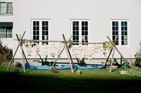 広壮な洋館の大根干しとポリ大根 - 照片画廊