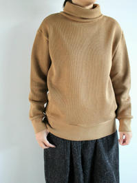 blurhmsWide-Wale Big High-Neck / Beige (LADIES ONLY) - 『Bumpkins putting on airs』