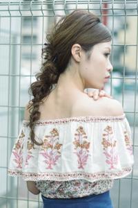 癖毛が得意な美容室ロングの簡単ヘアアレンジ - 空便り 髪にやさしいヘアサロン 髪にやさしいヘアカラー くせ毛を愛せる唯一のサロン