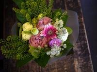 撮影のクランクアップの花束⑥。2018/11/01。 - 札幌 花屋 meLL flowers