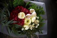 撮影のクランクアップの花束①。2018/11/02。 - 札幌 花屋 meLL flowers