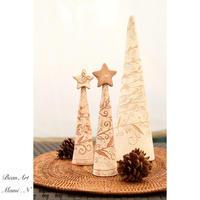 陶のクリスマスツリー2 - BEAN ART Cafe  - Mami . N -