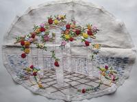 11月5日の日記<かわいい色が入った刺繍のマット類 - a manoのお買い物日記