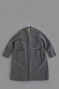 FIRMUM Wool Pile Knit Long Cardigan (Grey Top) - un.regard.moderne