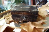 木箱の貯金箱2 - スペイン・バルセロナ・アンティーク gyu's shop