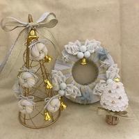 iku-tonさんのクリスマス3作品 - つまみ細工鶫屋(つぐみや)つれづれなるまま日記