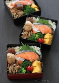 月曜鮭弁 ✿ 医者が教える食事術(๑@﹃@๑)♪ - **  mana's Kitchen **