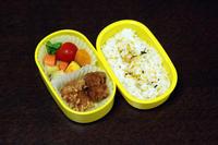 鶏の唐揚げ - 庶民のショボい弁当
