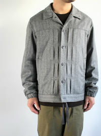 roundaboutWool Coach Jacket / Gray - 『Bumpkins putting on airs』