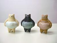 ほたる庵 ヤマイチアツコさんの陶猫 - 届けられたもの