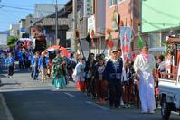 御荘地区八幡神社のお練 - ハチミツの海を渡る風の音