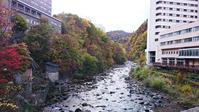 秋の北海道道南の旅定山渓の紅葉 - CROSS SKETCH