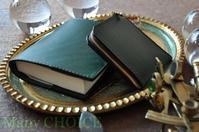 イタリアンレザー・ブッテーロ・L型財布とブックカバー・時を刻む革小物 - 時を刻む革小物 Many CHOICE~ 使い手と共に生きるタンニン鞣しの革