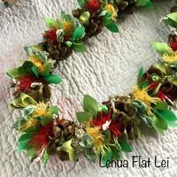 Lehua Flat Lei - パンの木ぷらす~備忘録