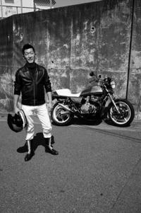 相澤 拓爾 & SUZUKI GSX750E(2018.04.28/YOKOHAMA) - 君はバイクに乗るだろう