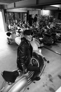 杉浦 裕 & PIAGGIO Vespa 150T(2018.03.31/NAGOYA) - 君はバイクに乗るだろう