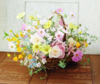 プレゼントのバスケットブーケと11月25日モミリースレッスンのお知らせ - 一会 ウエディングの花