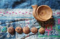 木の手作りボタンの作り方。この作り方がほんとに簡単。 - 手作り生活~道草日記~