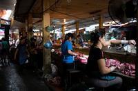 ハノイ街角スナップハノイの市場の朝2018.11 - 近代文化遺産見学案内所