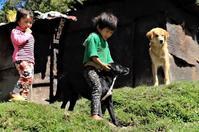 インド~ブータンの今㉙・山岳部の子供 - 夢・ファンダンゴ