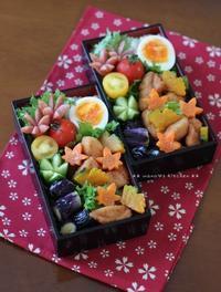 秋色から揚げ弁当(๑¯﹃¯๑)♪ - **  mana's Kitchen **