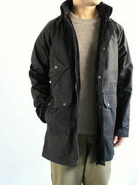 South2 West8 (S2W8)Carmel Coat - Paraffin Coating / Black - 『Bumpkins putting on airs』