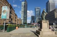ロンドン東の重宝する学習型屋内スペースMuseum of London Docklands - タワーブリッジの麓より