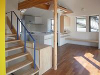 開放的で自然光の溢れるオープンキッチン - 自 然&建 築  Design BLOG