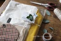 【大人女子のバイカラートート】革を使ってワンランク上の仕上がりに♪ - neige+ 手作りのある暮らし