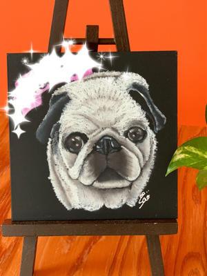 パグちゃん - Pelan Pelan  ~chalk art design~