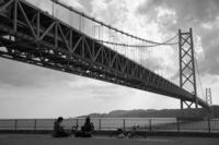 明石大橋を眺めながら - kisaragi
