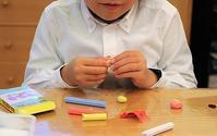 可愛いサンタクロースオーナメント - 大阪府池田市 幼児造形教室「はるいろクレヨンのブログ」