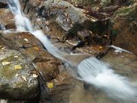大朝、渓流も秋。 - 大朝=水のふる里から