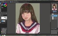 Medibang Paint Proで落描き2 - Time piece