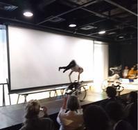 かんばらけんたの車椅子Dance x TOMC Sound in 渋谷ヒカリエ超福祉展 - 鴎庵