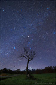 冬のダイヤモンド と 火球 - 遥かなる月光の旅