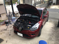 ルーテシア4/0.9t/MT アーシング施工 - 「ワッキーの自動車実験教室」 ワッキー@日記でごじゃる